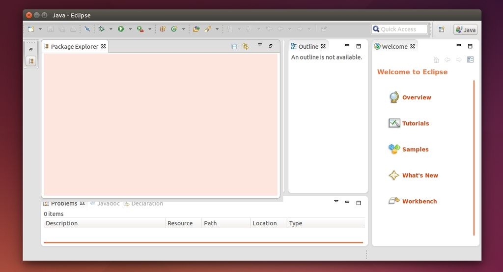 Eclipse in Ubuntu