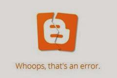 blogger error