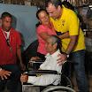 José Plúa, de 96 años, podrá dejar su cama luego que se le entregara una silla de ruedas. Él sufre de cáncer de próstata, por lo que se ha complicado su movilidad