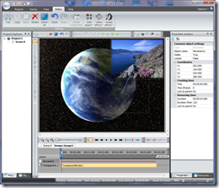 VSDC Free Video Editor - interface