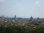 Rome from Castle Sant'Angelo