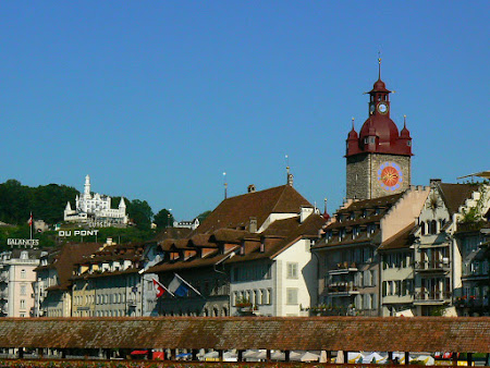 Sights in Switzerland: Lucerne old city