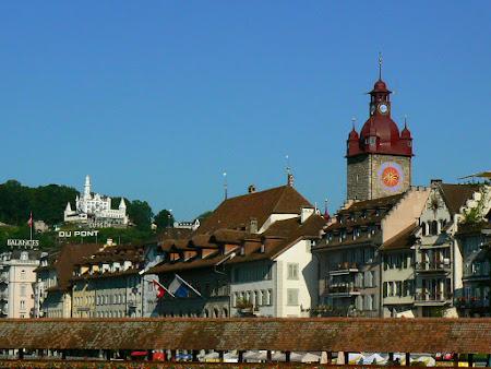 Sights in Switzerland: Lucerne old city
