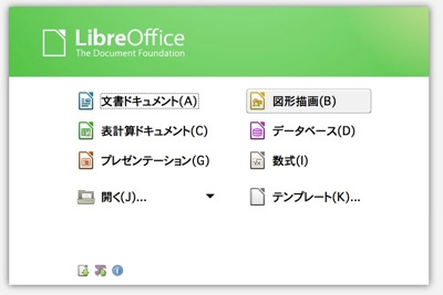 Libreoffice新画面