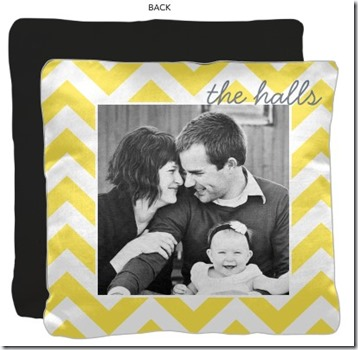 Shutterfly Chevron Pillow