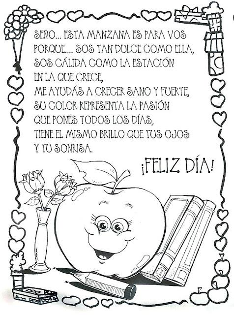 Tarjetas dia del maestro - Actividades para niños, manualidades ...