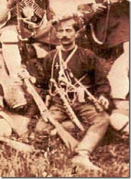 Φωτογραφία του Παύλου Μελά χωρίς στρατιωτική στολή εξόδου.