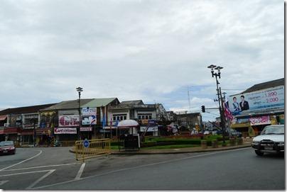 Phuket Old Town rounadabout