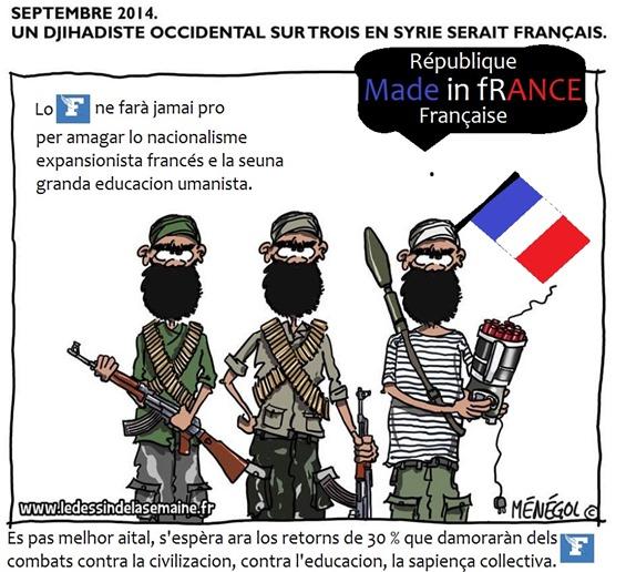 Dessenh d'umor de Le Figaro comentat