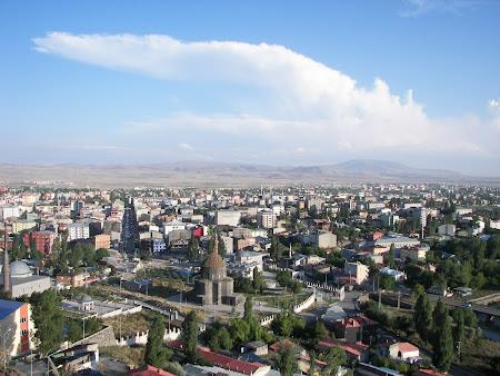 Imagini Anatolia: Kars vazut din citadela