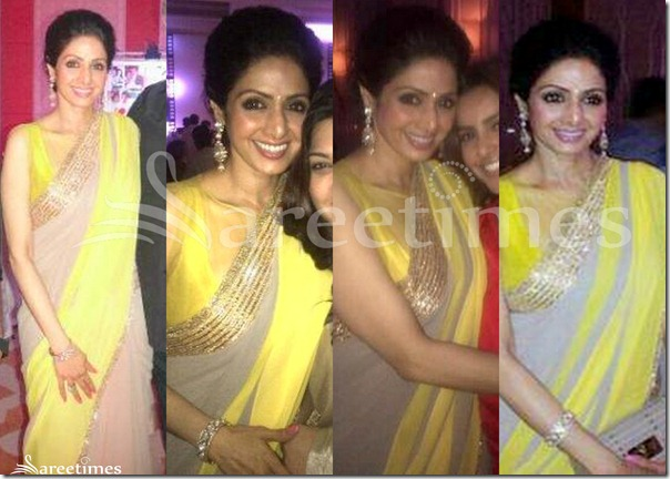Sridevi_Grey_Designer_Georgette_Saree