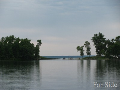 Kitchi Lake going into Cass Lake