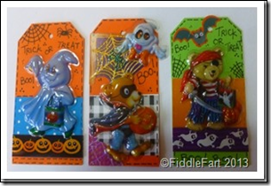 Halloween Trick or Treat Bags with tags. 7