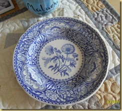 Blue Spode Georgian Series Floral