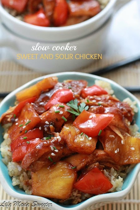Slow Cooker Sweet and Sour Chicken by Life Made Sweeter.jpg