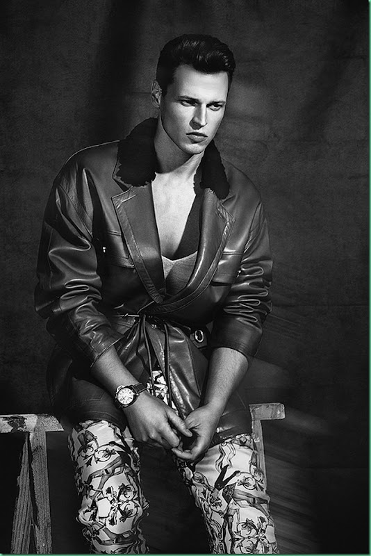 Lars Burmeister by Anthony Meyer for Chic Magazine