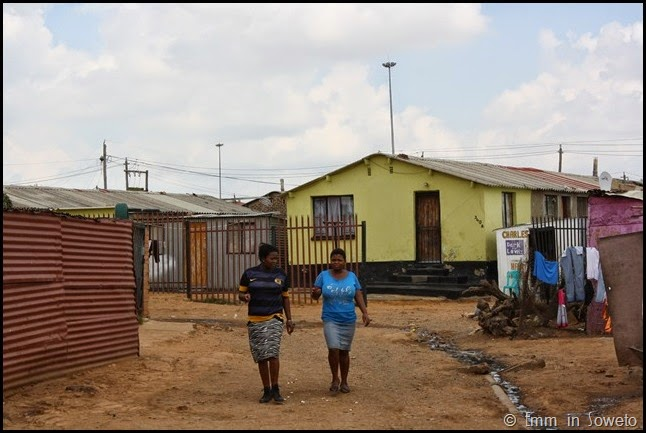 Mzimhlophe Hostel - Soweto Bicycle Tour