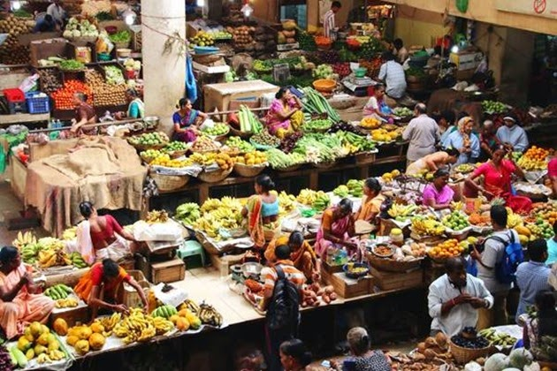 Colourful markets of Goa