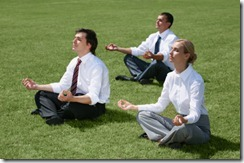 business-people-meditating