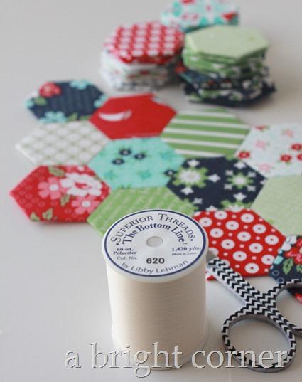 english paper piecing thread