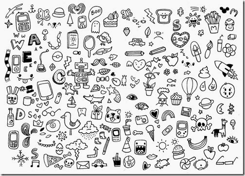 All in the Detail: be a doodler, too.