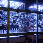 ABSOLUT vodka bottles at Nuit Blanche 2014 in Toronto, Ontario, Canada