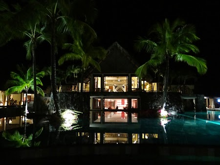 38. Hotel Constance Belle Mare Plage Hotel by night.JPG