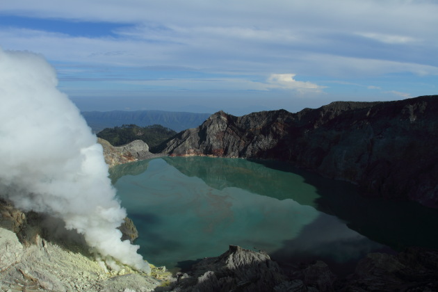 Kawah Ijen - the world's most acidic lake