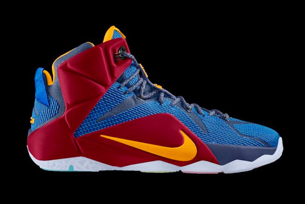 You Can Almost Create Nike LeBron 12 Homecoming PEs on Nike iD