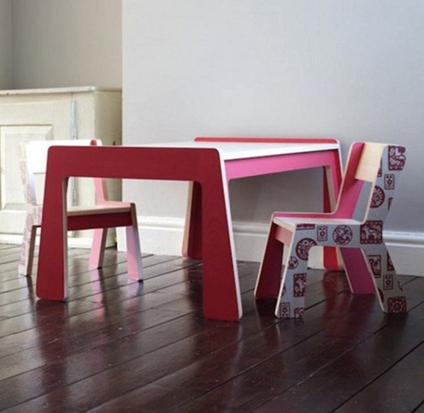 kids' table