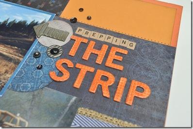 the strip close
