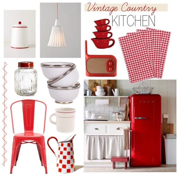 vintage country - cucina