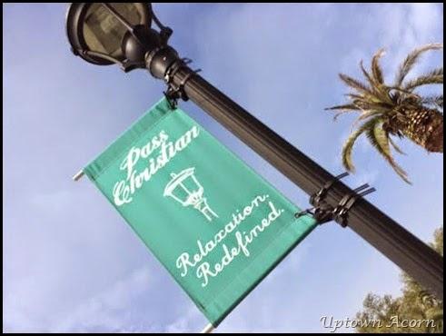 street lamp signage