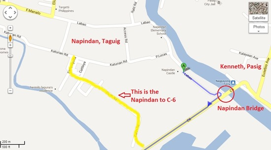 Napindan to C-6 Road