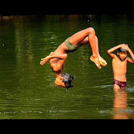 Happiness :) :)  by Vivek Raj  Kumar - Babies & Children Children Candids ( #happiness #children #summers )