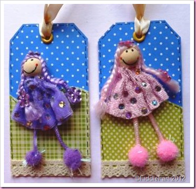 Doll Gift Tags..