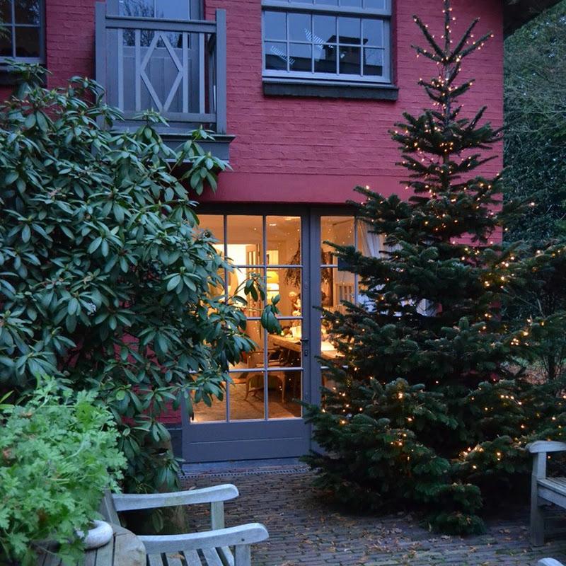 Christmas at the Home of Belgian designer Walda Pairon