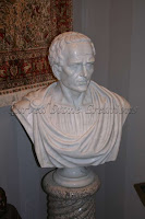 Bust Of Julius Caesar In White Marble