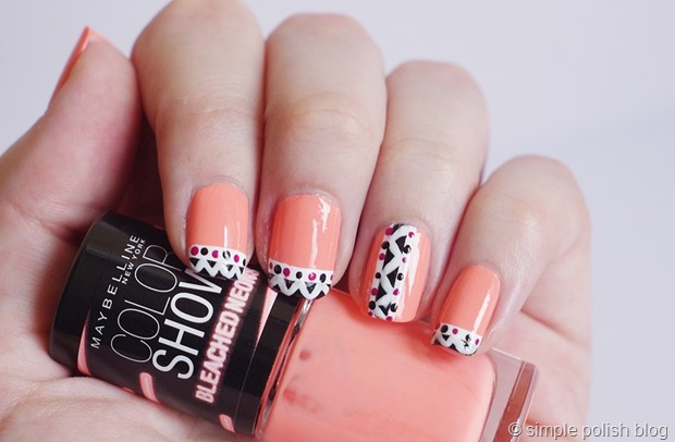 Nail-Art-Neon-Tribal-2