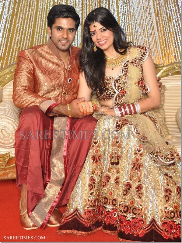 Pallavi_Namdev_Weds_Vibin_Das_Wedding_Saree