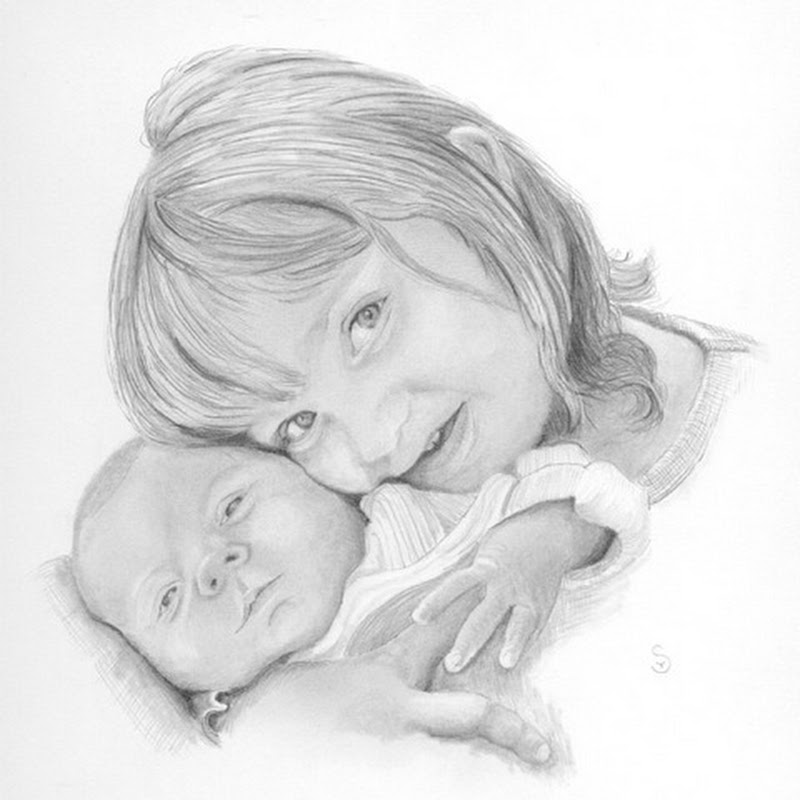 Tim smith - Highly Detailed Hand Drawn Portraits in Graphite Pencil