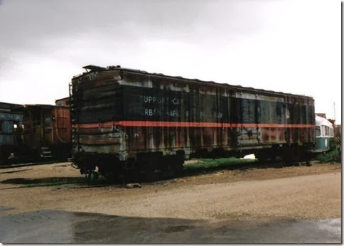 United States Department of Transportation (DOTX) Boxcar #3 at the Illinois Railway Museum on May 23, 2004