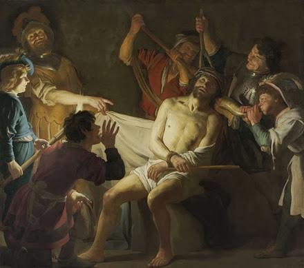 Cristo coroado com espinhos [Gerard van Honthorst, 1622 – www.Rijksmuseum.nl]