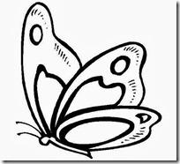 mariposa jugarycolorear d