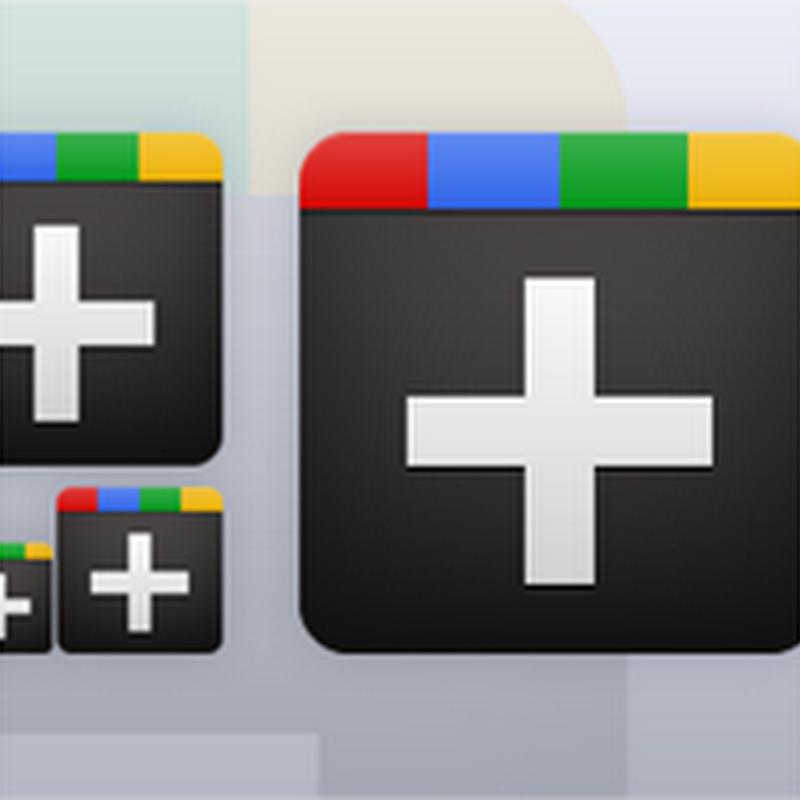 10 paquetes de íconos de Google+