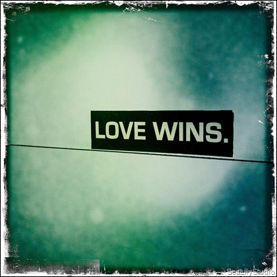 love wins SeaLilyStudio