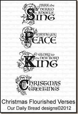 Christmas Flourished Verses
