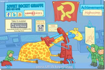 Soviet Giraffe Rocket Go Go Go!