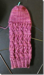 Sunshine Sock - Sock 2 - Heel Turn