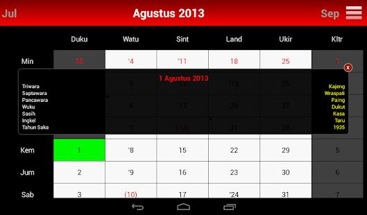 app kalender bali apk for windows phone android games and apps. Black Bedroom Furniture Sets. Home Design Ideas